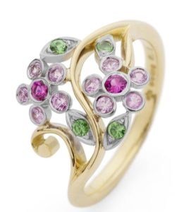 stella-ring-with-pink-sapphires-green-garnets-in-18ct-fairtrade-gold-768x884